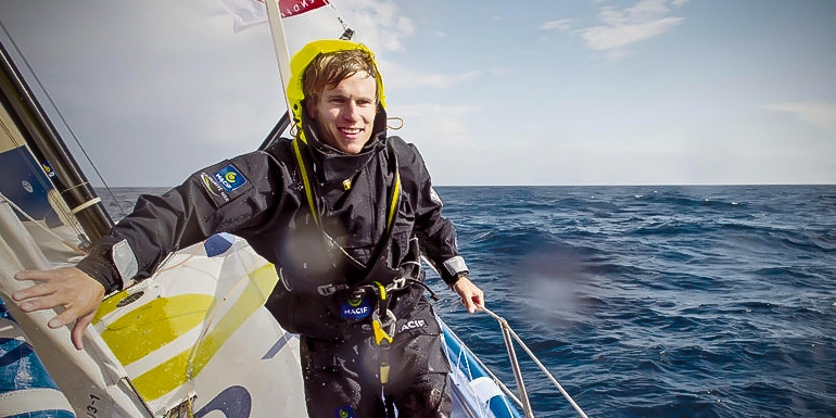 Francois Gabart. Wyścig przez oceany.