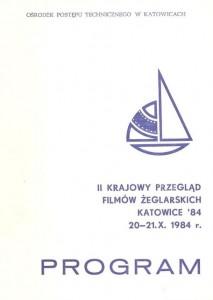 II Krajowy Przegląd Filmów Żeglarskich - Program