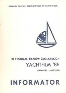 III Festiwal Filmów Żeglarskich - Informator