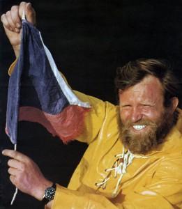 Richard Konkolski w Newport na mecie OSTAR 72