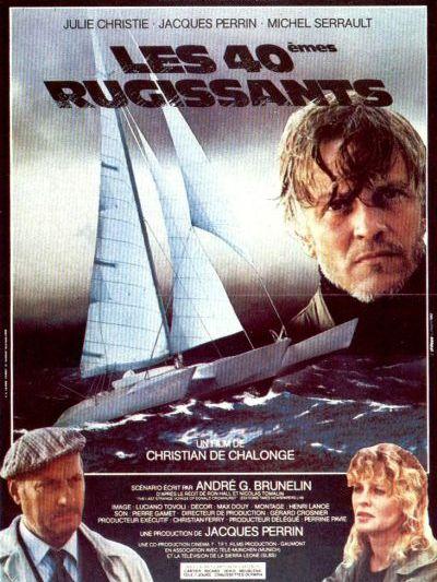 "Plakat filmu ""Les Quarantièmes rugissants"""